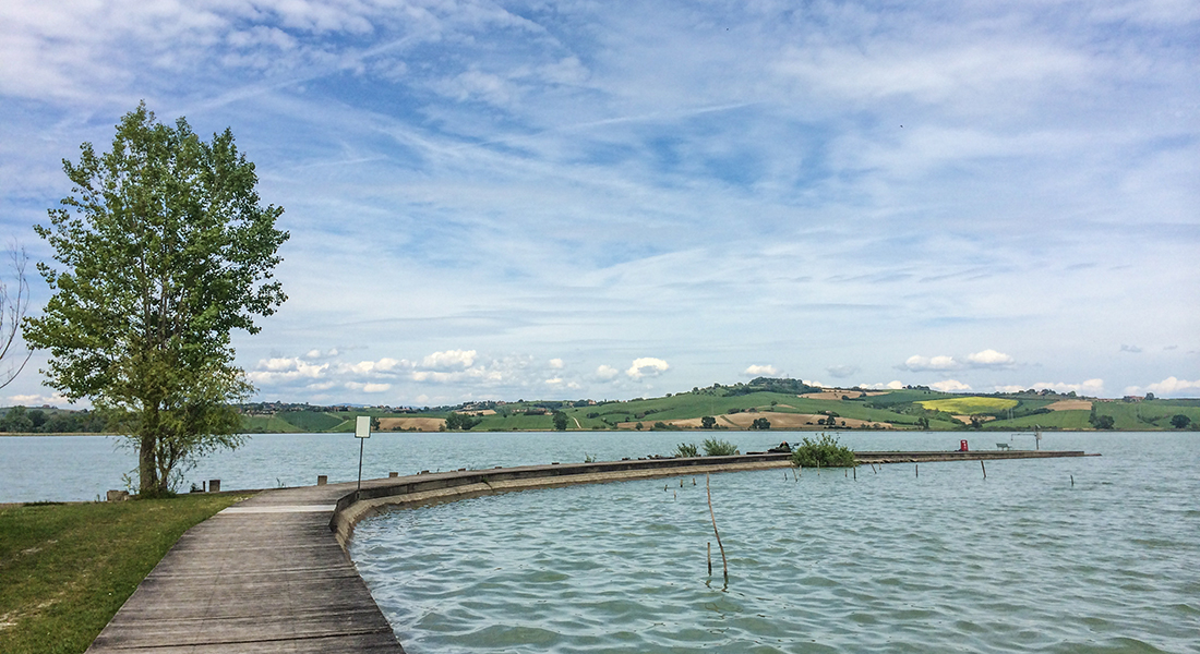 The Wandering Bike - Lago di Chiusi